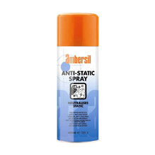 Dissipates Static Build Up Anti-Static Spray
