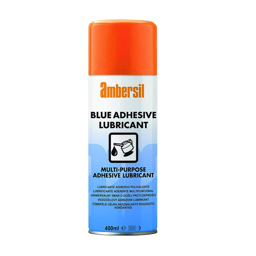 Oil Blue Adhesive Lubricant