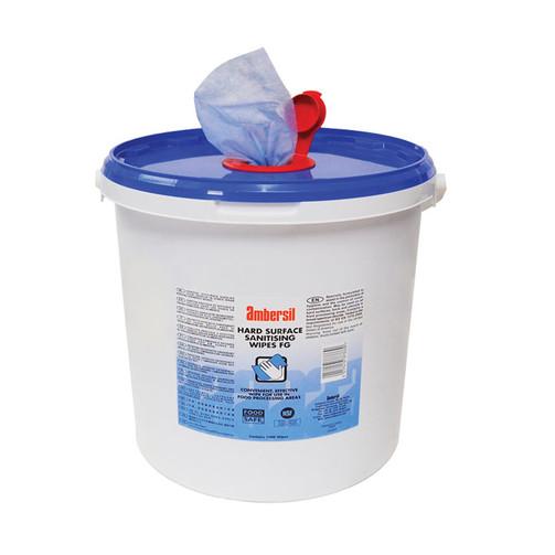 Салфетки Hard Surface Sanitising Wipes FG