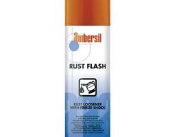 Rust Flash at work against rust!
